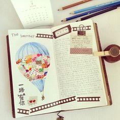 Midori Travelers Notebook iverylovebeibei Instagram