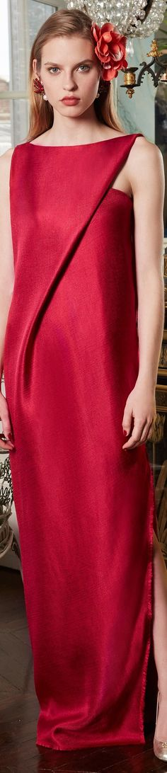 Paule Ka Resort 2018 vogue 45 Perfect Fashion Ideas To Wear Asap – Paule Ka Resort 2018 vogue Source Red Fashion, Fashion 2018, Fashion Outfits, Womens Fashion, Fashion Trends, Fashion Design, Mode Glamour, Looks Style, Beautiful Gowns