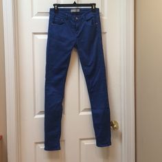 HOST PICK 11/23Zara Bright Blue Denim Bright blue jeans by Zara Zara Pants Skinny