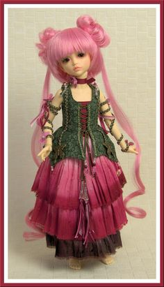 BJD fairy costume for 35cm Iplehouse kid