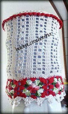 Capa para galão de água!  Peça já a sua Aceitamos encomendas  Instagram Indiana_crocheteria  Página no Facebook indianacrocheteria @indianacrocheemgeral  Ou pela nossa loja virtual  https://www.elo7.com.br/indianacrocheteria/loja