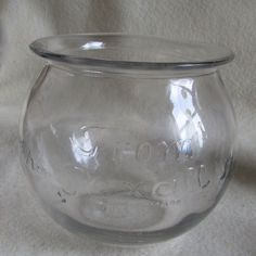 Antique Rexall Drug Store Glass Display Jar, Apothecary