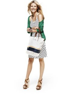 """Lindex's """"Modern Preppy"""" spring line. Classic + Affordable = Love"""