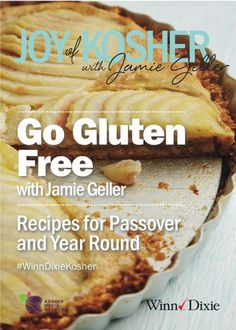 Download your FREE Gluten Free recipe ebook perfect for Passover and all year.