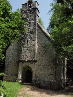 14th Century Catholic Church on a trail in the Alps near Bovec, Slovenia.  Absolutely beautiful1