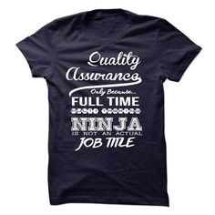 Quality Assurance only because full time multitasking T Shirts, Hoodies. Get it now ==► https://www.sunfrog.com/LifeStyle/Quality-Assurance-only-because-full-time-multitasking.html?41382 $23