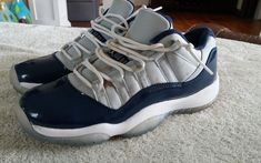 brand new 6dfb8 b01a4 Nike Air Jordan 11 XI Retro Low Georgetown 528896-007 Size 5.5y (s1)   fashion  clothing  shoes  accessories  kidsclothingshoesaccs  boysshoes  (ebay link)
