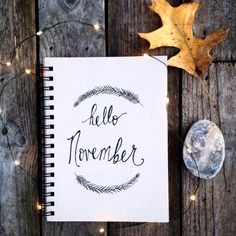 I'm about to start my november bullet journal, I just started in the middle of October and I can tell it's something I'm going to be doing for a long time if not forever.