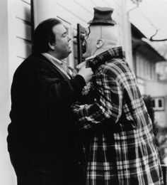 Uncle Buck Photo John Candy Mike Starr Pooter the Clown comic scene Tv Actors, Actors & Actresses, Famous Serial Killers, Mike Starr, Vhs Movie, Universal Pictures, I Love To Laugh, Vintage Movies, Humor