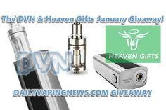 Enter the DVN & HeavenGifts Jan. giveaway for a Joyetech Cuboid mod & Cubis tank combo! ENTER AT: https://wn.nr/FqEAd