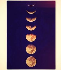 I love this! The phases of the moon! I'd probably get it on my back, starting at my lower spine:)