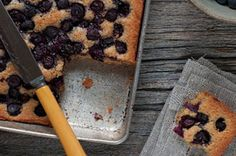 Blueberry-Sour Cream Coffee Cake Folks will say this blueberry-topped sour cream coffee cake is too pretty to dig into. But dig into it they willand they'll be happy they did because this morning creation is full of delicious fruit flavor! Kraft Recipes, Kraft Foods, Bacon Recipes, Bread Recipes, Cake Recipes, Coffee Cake Image, Just Desserts, Dessert Recipes, Breakfast Recipes