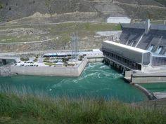 Clyde dam New Zealand.