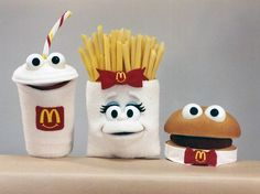 Art Director, Puppets, Mcdonalds, Meals, Power Supply Meals, Hand Puppets, Meal, Food, Doll