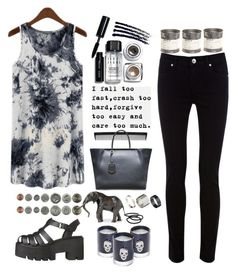 """""""Crash"""" by bamaannie ❤ liked on Polyvore featuring T3, Oasis, Fendi, Lisa Carrier, Bobbi Brown Cosmetics, Just Acces, Goody, Le Labo and Topshop"""