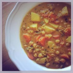 Ad Hoc, Cheeseburger Chowder, Curry, Food And Drink, Soup, Cooking, Kochen, Soups, Curries