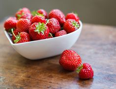 Strawberries are a very nutritious fruit