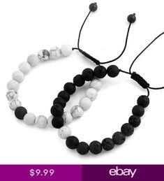 c65b6b5c74ad Natural Stone Bead Couple Distance Bracelets Pulseras Para Parejas A  Distancia
