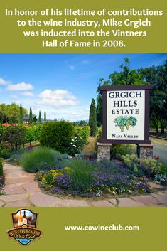 The California Wine Club features the 2010 and 2012 Estate Grown Napa Valley Cabernet Sauvignon by Grgich Hills Estate, a Napa Valley winery established in Learn more about this winery. Napa Valley Wineries, Virginia Wineries, California Wine Club, Napa Valley Cabernet Sauvignon, Barolo Wine, Wine Auctions, Wine Deals, Wine Country, James Beard