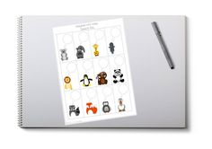 Mini Notes with Speech Pals Just For Fun, As You Like, Kids Board, Diy Supplies, Card Stock, Super Cute, Notes, Printables, Mini