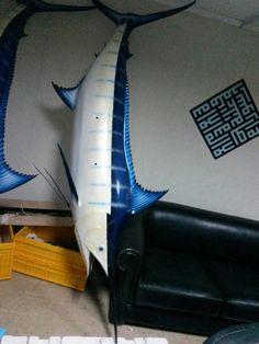 Kılıç balığı modeli