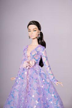 Barbie Gowns, Barbie Dress, Barbie Clothes, Barbie Doll, Fashion Royalty Dolls, Fashion Dolls, Dress Fashion, Best Dresses For Ladies, The Dress