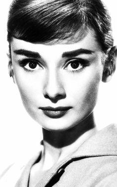 Audrey Hepburn in a publicity shot in 1956.