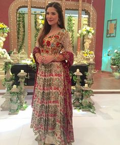 "shaadifashion: "" Ayesha Omar in Tena Durrani """