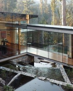 A glass house in Lo Curro we wouldn t throw stones at by Schmidt Arquitectos via trendland- architecture, design
