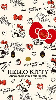 ideas baking wallpaper hello kitty for 2019 Sanrio Wallpaper, Kawaii Wallpaper, Cute Wallpaper Backgrounds, Cartoon Wallpaper, Cute Wallpapers, Baking Wallpaper, Hello Kitty Themes, Hello Kitty Pictures, Hello Kitty Backgrounds