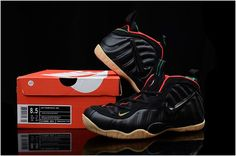 """01ce7c4dd21 Nike Air Foamposite Pro """"Gucci"""" Black Gym Red-Metallic Gold For Sale  Authentic"""