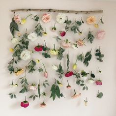 Excited to share this item from my shop: Flower Wall Hanging - Nursery Floral - Floral Backdrop - Nursery Decor - Wedding Decor - Birthday Girl Flowers - Crib Hanging Decor Hanging Flower Wall, Flower Wall Decor, Hanging Plants, Flower Decorations, Wedding Decorations, Decor Wedding, Wall Of Flowers, Wedding Aisles, Wedding Backdrops