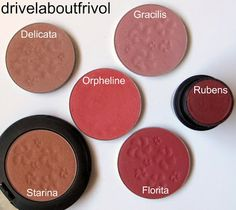 Original Skin Blush FOR LOVE OF ROSES 'Delicata', 'Starina', 'Orpheline', 'Gracilis', 'Florita'; Blush Wand CHEEKS IN BLOOM 'Rubens'