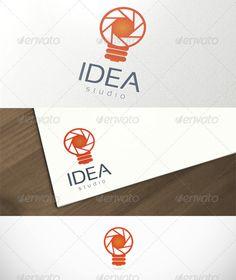Idea Studio Photography  - Logo Design Template Vector #logotype Download it here: http://graphicriver.net/item/idea-studio-photography-logo-template/2864025?s_rank=1043?ref=nesto