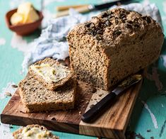 Almond and Poppy Seed Bread