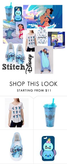 """Stitch // Disney // 23"" by jerribear ❤ liked on Polyvore featuring Disney and Hybrid"