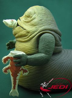 Jabba The Hutt Figure - With Fode & Beed