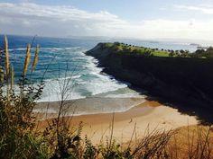 Mataleñas beach. Santander