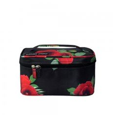 This Wild Poppies Cosmetic Case is gorgeous! Travel Wear, Travel Style, Wild Poppies, Cosmetic Case, Travel Accessories, All Black, Elephant, Stripes, Cosmetics