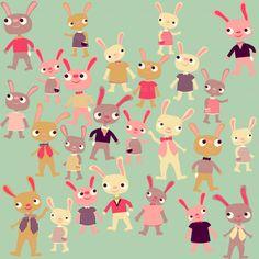 Bunny Bunch by Heidi Kenney