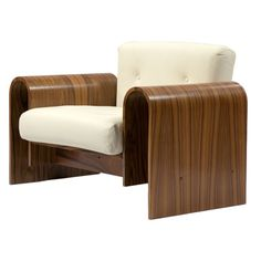 Lounge chair by Oscar Niemeyer | 1stdibs.com