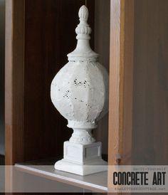 DIY Concrete Art