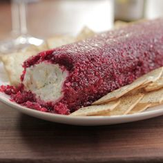 Cream Cheese Log with Sweet-and-Spicy Cranberry Relish By Valerie Bertinelli