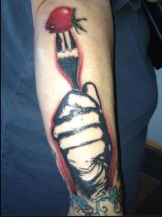 Forks Over Knives tattoo! From a supporter for life.