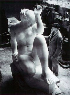 Aristide Maillol (French, 1861 – 1944) withLa Montagne, 1936