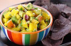 Avocado and Mango Salsa Recipes. #Recipes