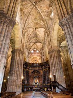 El arte de la elegancia. Catedral de Santa María de Sigüenza    por mi§oad (repinned by @Itinerum Tours) #Sigüenza