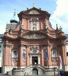 Neumünster in Würzburg, Germany #Baroque