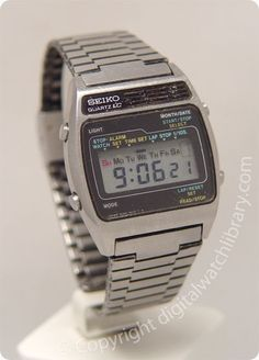 SEIKO - A159-4019 - a-series - Vintage Digital Watch