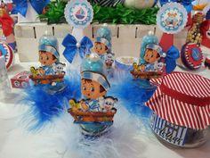 Nara Belle - Lembrancinhas de Aniversário do Tema Ursinho Marinheiro - Menino (Arthur)